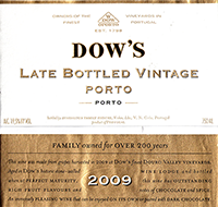 Dow's Late Bottled Vintage Porto