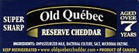 Old Quebec Cheddar cheese