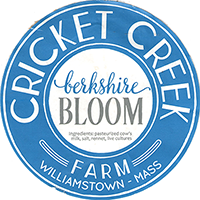 Berkshire Bloom Cricket Creek cheese