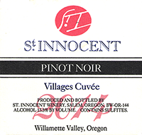St. Innocent 'Villages Cuvée' Willamette Valley Pinot Noir