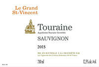 Le Grand St-Vincent Touraine Sauvignon