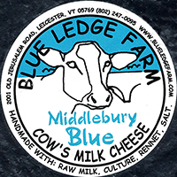 Blue Ledge Farm Middlebury Blue cheese
