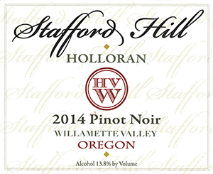 Stafford Hill Willamette Valley Pinot Noir