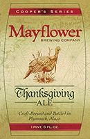 Mayflower Brewing Company Thanksgiving Ale