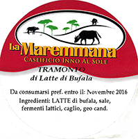 La Maremmana  Grossetano cheese