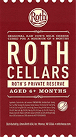 Roth's Private Reserve cheese