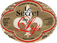 Le Secret des Lys cheese