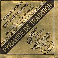 Jacquin Valençay Pyramide de Tradition cheese
