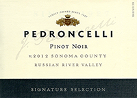 Pedroncelli Russian River Valley Pinot Noir