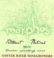 Oyster River Winegrowers 'Morphos' American Sparkling Wine