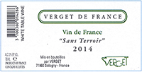 Verget 'Sans Terroir' Vin de France Blanc
